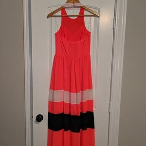 Gianni Bini Dresses - Beautiful Gianni Bini Halter Dress w Embroidery